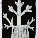 19 Black-White Organic Form 2