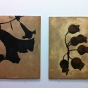 17 Two Encaustic Works