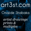 Onajide Shabaka prints drawings & multiples 2